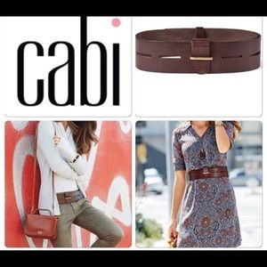 """Size Large CABi """"Here There Belt""""."""